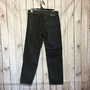 Levis 562 Loose Fit Button Fly Jeans Mens 30x32